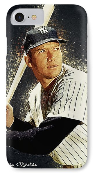 Mickey Mantle IPhone 7 Case