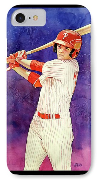 Mickey Moniak Number 1 Pick IPhone Case by Michael Pattison
