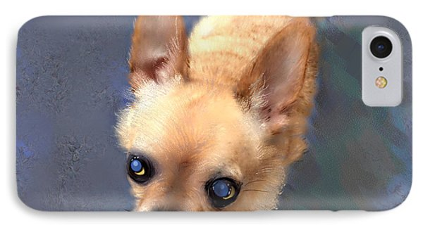 Mickey The Rescue Dog IPhone Case