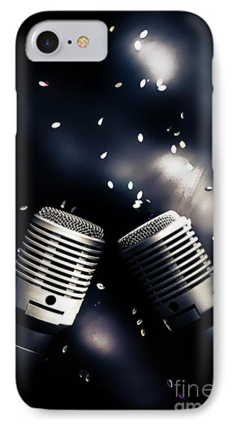 Microphone Club IPhone Case by Jorgo Photography - Wall Art Gallery