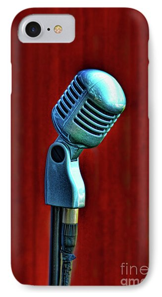 Microphone Phone Case by Jill Battaglia