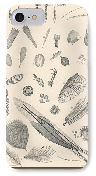 Microscopic Objects IPhone Case by Rob Dreyer