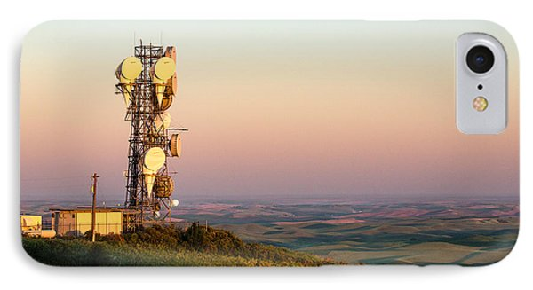 Microwave Tower IPhone Case by Todd Klassy