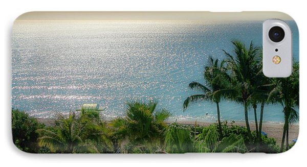 Mid-beach Miami-3 IPhone Case by Frank Mari