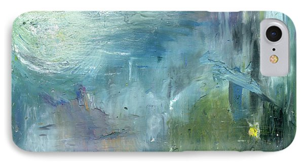 IPhone Case featuring the painting Mid-day Reflection by Michal Mitak Mahgerefteh