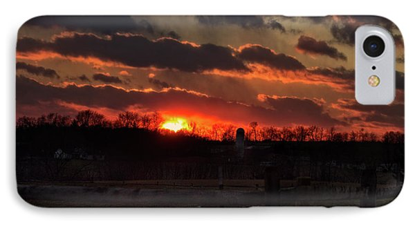 IPhone Case featuring the photograph Mid Ohio Sunset by Bruce Patrick Smith