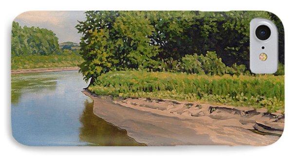 Mid Summer Prairie Stream IPhone Case by Bruce Morrison