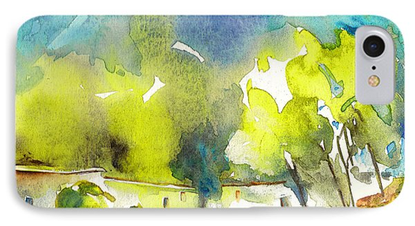 Midday 14 IPhone Case by Miki De Goodaboom