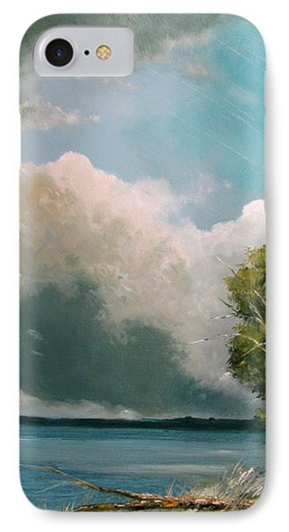 Midday Clouds IPhone Case