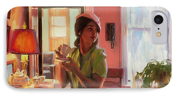 Midday Tea IPhone Case by Steve Henderson