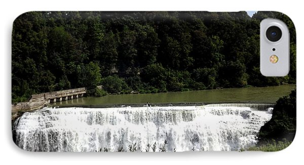 Middle Falls In Rochester New York Phone Case by Rose Santuci-Sofranko