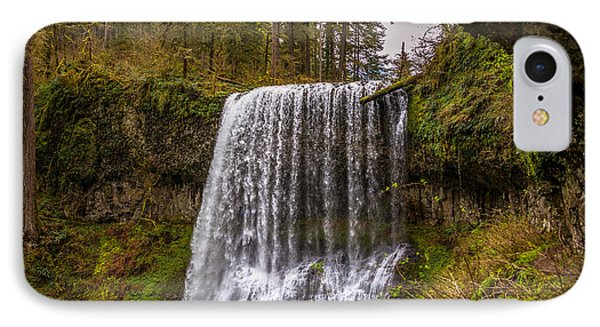 Middle North Falls IPhone Case by Jerry Cahill