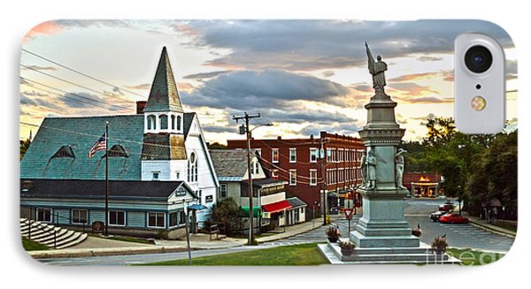 Middlebury Vermont At Sunset IPhone Case by Catherine Sherman