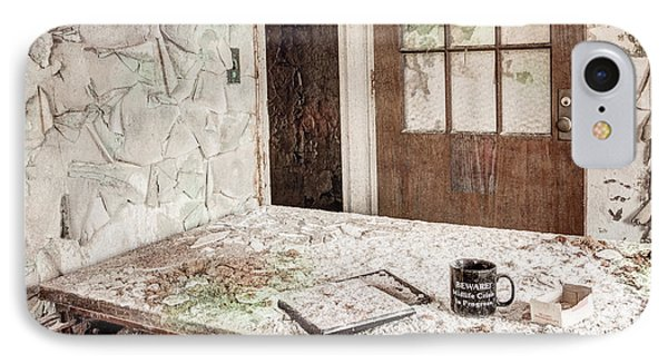 IPhone Case featuring the photograph Midlife Crisis In Progress - Abandoned Asylum by Gary Heller