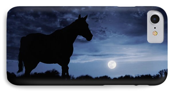 Midnight Blue IPhone Case by Debby Herold