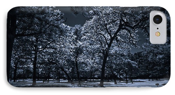 IPhone Case featuring the photograph Midnight Blues by Linda Unger
