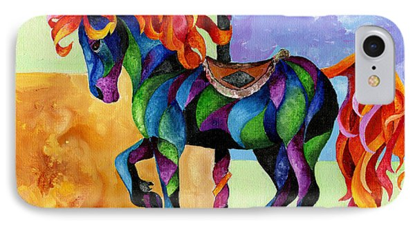 Midnight Fire IPhone Case by Sherry Shipley