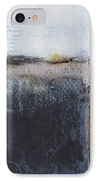 IPhone Case featuring the painting Midnight Glow by Nicole Nadeau