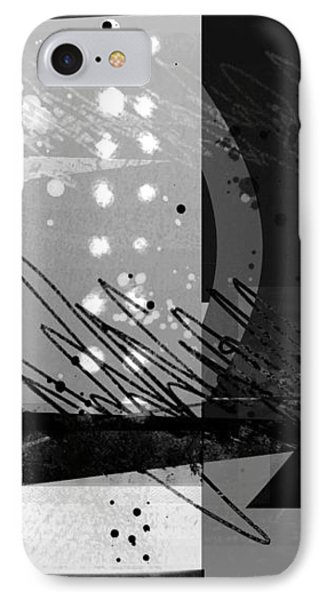 Midnight In The City 1 Triptych Phone Case by Ann Powell