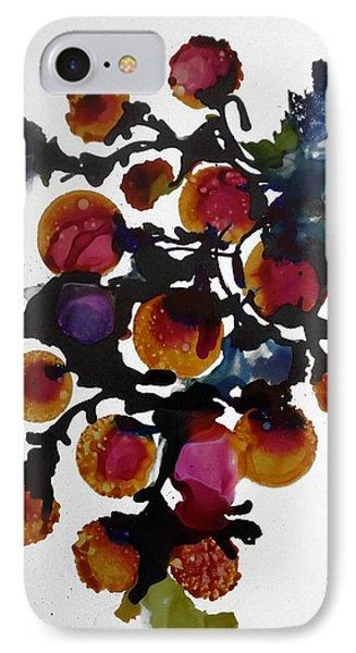Midnight Magiic Bloom-1 IPhone Case by Alika Kumar