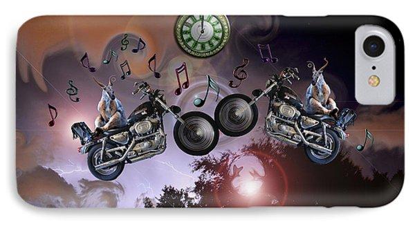Midnight Rider IPhone Case by Amanda Vouglas