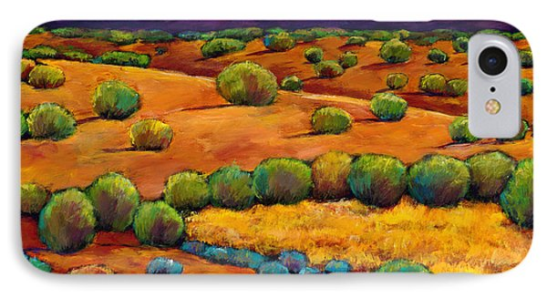 Desert iPhone 7 Case - Midnight Sagebrush by Johnathan Harris