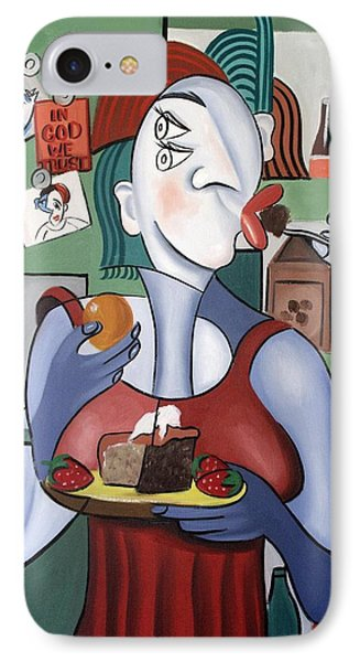 Midnight Snack IPhone Case by Anthony Falbo