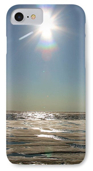 Midnight Sun Over The Arctic IPhone Case by Anthony Jones