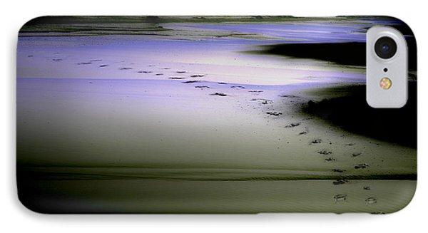 Midnight Swim IPhone Case by Gray  Artus