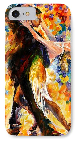 Midnight Tango Phone Case by Leonid Afremov