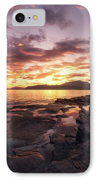 Midnightsun Madness IPhone Case