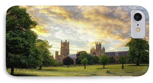 Midsummer Evening In Ely IPhone Case