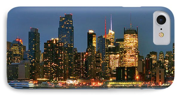 Midtown Manhattan IPhone Case by Zawhaus Photography