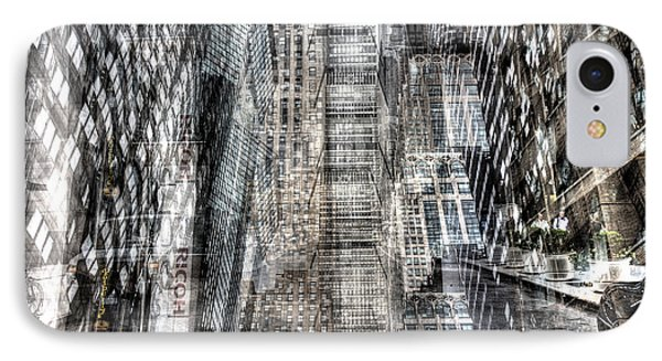 Midtown Sidestreet IPhone Case by Dave Beckerman
