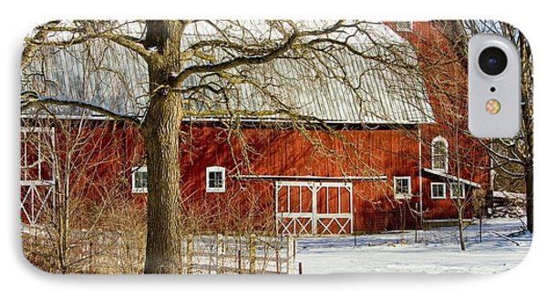 Midwest Barn IPhone Case by Pat Cook