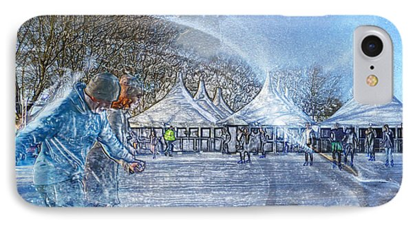 IPhone Case featuring the photograph Midwinter Blues by LemonArt Photography