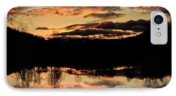 Midwinter Sunrise IPhone Case by Albert Seger