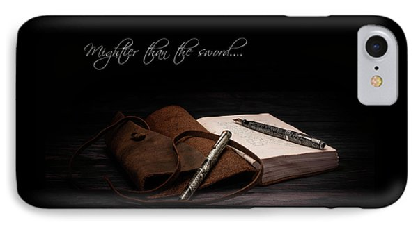 Mightier Than The Sword IPhone Case