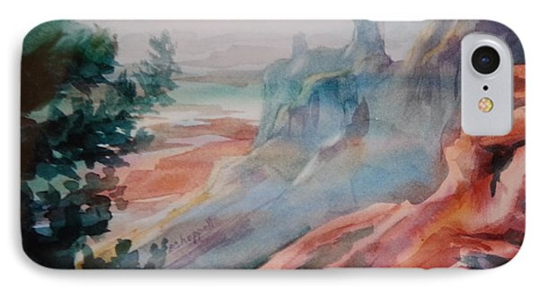 Mighty Canyon IPhone Case by Becky Chappell