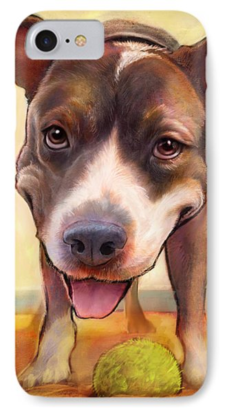 Bull iPhone 7 Case - Live. Laugh. Love. by Sean ODaniels