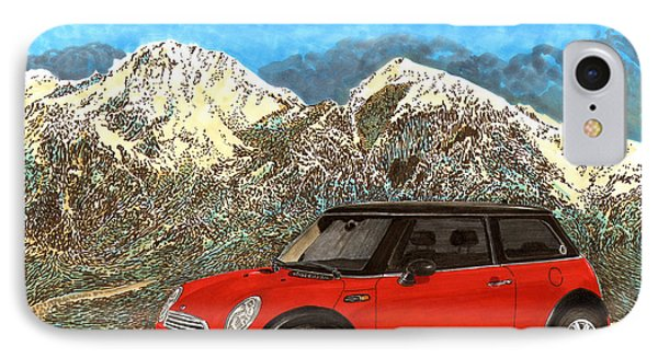 Mighty Mini Cooper S Phone Case by Jack Pumphrey