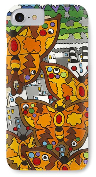 Migration IPhone Case by Rojax Art