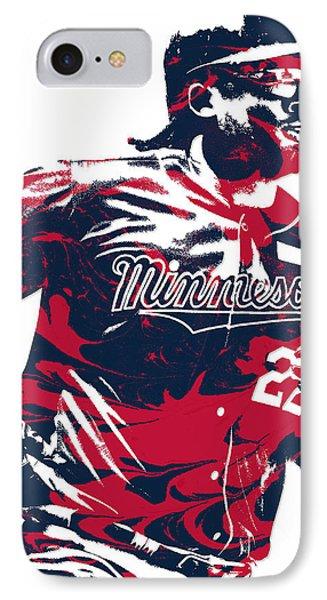 Miguel Sano Minnesota Twins Pixel Art 1 IPhone Case