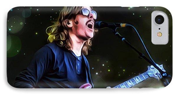 Mikael Akerfeldt Painting IPhone Case