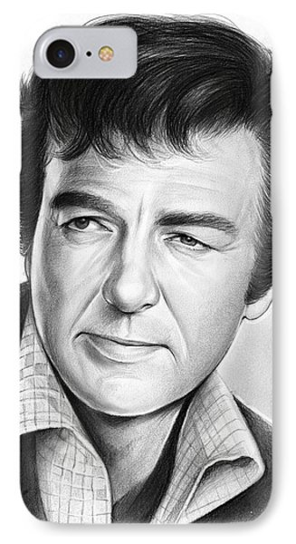 Mike Connors IPhone Case by Greg Joens