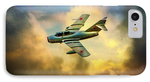 IPhone Case featuring the photograph Mikoyan-gurevich Mig-15uti by Chris Lord