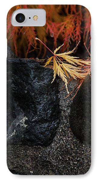 IPhone Case featuring the photograph Miksang 5 Autumn by Theresa Tahara