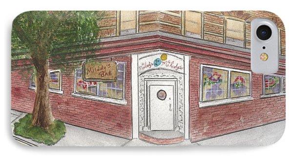 Milady's Bar In Soho IPhone Case by AFineLyne