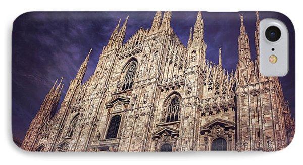 Milan Duomo IPhone Case by Carol Japp
