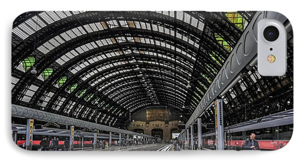 Milano Centrale IPhone Case by Carol Japp